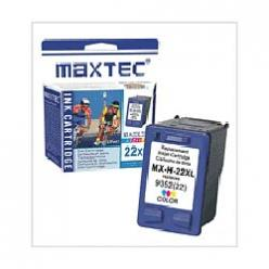 INK JET TINTA HP C9352AE COLOR No.22XL MAXTEC